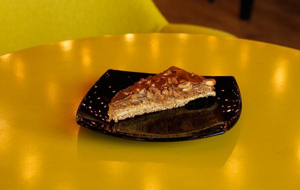 Шоколадова торта с фъстъци